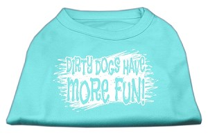Dirty Dogs Screen Print Shirt Aqua XXL (18)