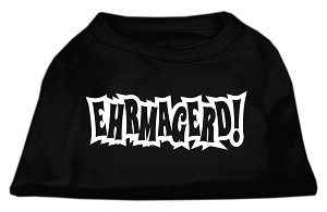 Ehrmagerd Screen Print Shirt Black XXXL (20)