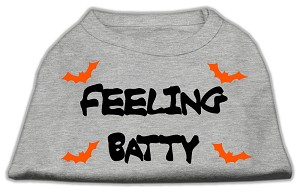 Feeling Batty Screen Print Shirts Grey XXXL (20)