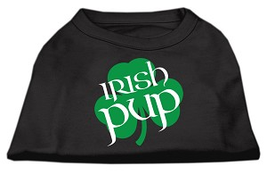 Irish Pup Screen Print Shirt Black Sm (10)