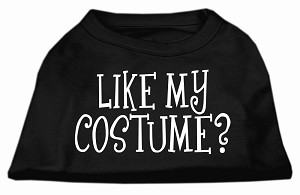 Like my costume? Screen Print Shirt Black XXXL(20)