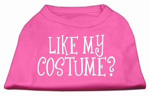 Like my costume? Screen Print Shirt Bright Pink XXXL(20)