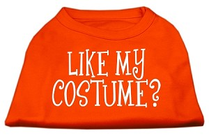 Like my costume? Screen Print Shirt Orange XXXL (20)