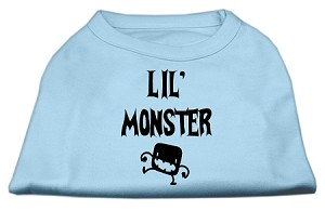 Lil Monster Screen Print Shirts Baby Blue Med (12)