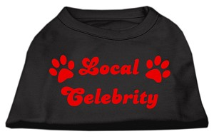 Local Celebrity Screen Print Shirts Black XS (8)