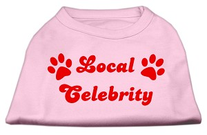 Local Celebrity Screen Print Shirts Pink Sm (10)
