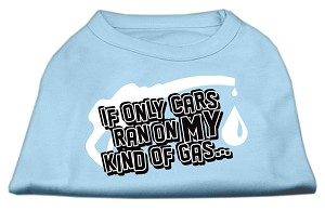 My Kind of Gas Screen Print Shirts  Baby Blue XS (8)