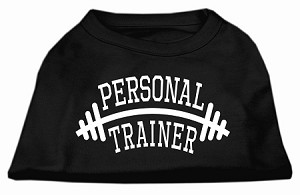 Personal Trainer Screen Print Shirt Black Med (12)