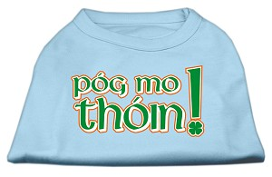 Pog Mo Thoin Screen Print Shirt Baby Blue XL (16)