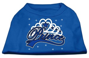I'm a Prince Screen Print Shirts Blue Med (12)