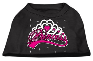 I'm a Princess Screen Print Shirts Black XXL (18)