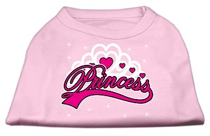 I'm a Princess Screen Print Shirts Pink Sm (10)