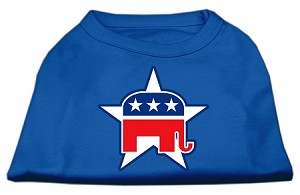 Republican Screen Print Shirts Blue Sm (10)