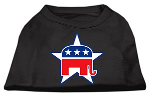 Republican Screen Print Shirts Black L (14)