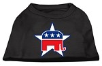 Republican Screen Print Shirts Black XS (8)