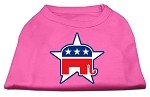 Republican Screen Print Shirts Bright Pink XS (8)