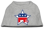 Republican Screen Print Shirts Grey XS (8)