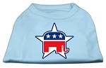 Republican Screen Print Shirts Baby Blue XS (8)