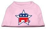 Republican Screen Print Shirts Light Pink XS (8)