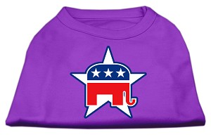 Republican Screen Print Shirts Purple XL (16)