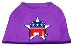 Republican Screen Print Shirts Purple XS (8)