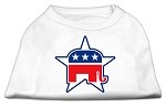 Republican Screen Print Shirts White XS (8)