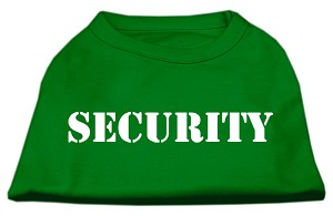 Security Screen Print Shirts Emerald Green Lg (14)