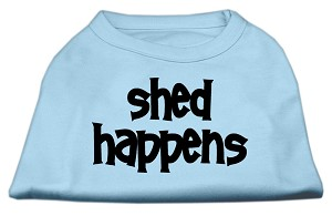 Shed Happens Screen Print Shirt Baby Blue Med (12)