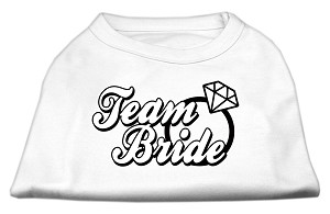 Team Bride Screen Print Shirt White Sm (10)