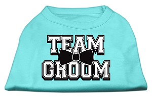 Team Groom Screen Print Shirt Aqua Med (12)