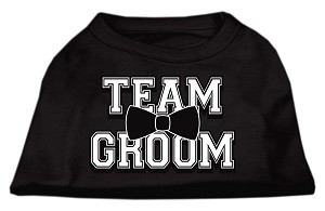 Team Groom Screen Print Shirt Black XS (8)