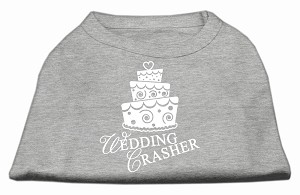 Wedding Crasher Screen Print Shirt Grey Sm (10)