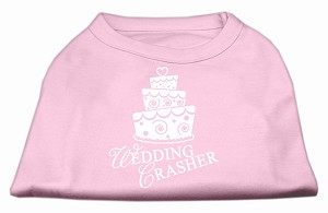 Wedding Crasher Screen Print Shirt Light Pink Lg (14)