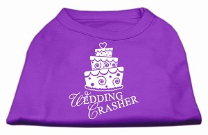 Wedding Crasher Screen Print Shirt Purple Lg (14)