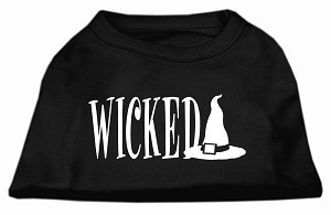 Wicked Screen Print Shirt Black L (14)