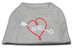 XOXO Screen Print Shirt Grey XXL (18)
