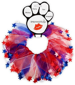 Red, White and Blue Star Smoochers Small RWB