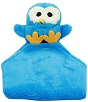 Snuggles Owl Crinkly Pet Toy