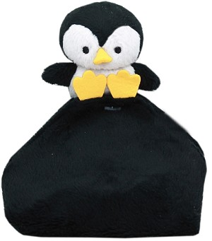 Snuggles Penguin Crinkly Pet Toy