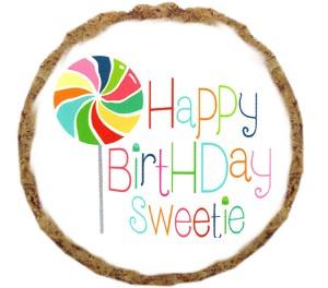 Happy Birthday Sweetie Dog Treats - 12 Pack
