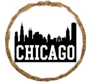 Chicago Skyline Dog Treats - 6 Pack