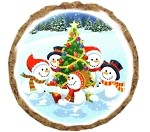 Snowman Party Dog Treats - 6 Pack