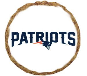 New England Patriots Dog Treats - 6 Pack