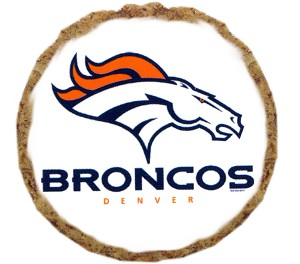 Denver Broncos Dog Treats - 12 Pack