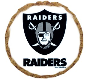 Oakland Raiders Dog Treats - 6 Pack