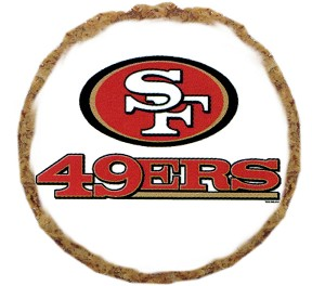 San Francisco 49ers Dog Treats - 6 Pack