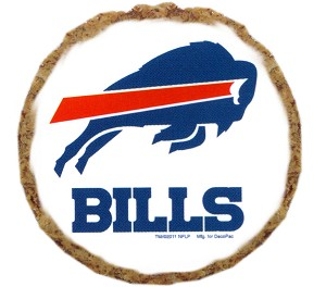 Buffalo Bills Dog Treats - 6 Pack