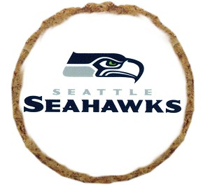 Seattle Seahawks Dog Treats - 12 Pack