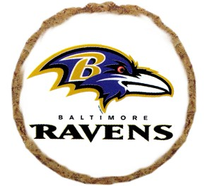 Baltimore Ravens Dog Treats - 6 Pack