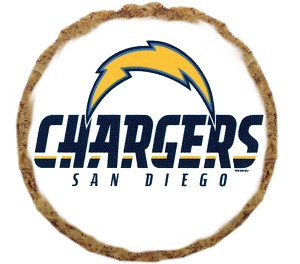 San Diego Chargers Dog Treats - 12 Pack